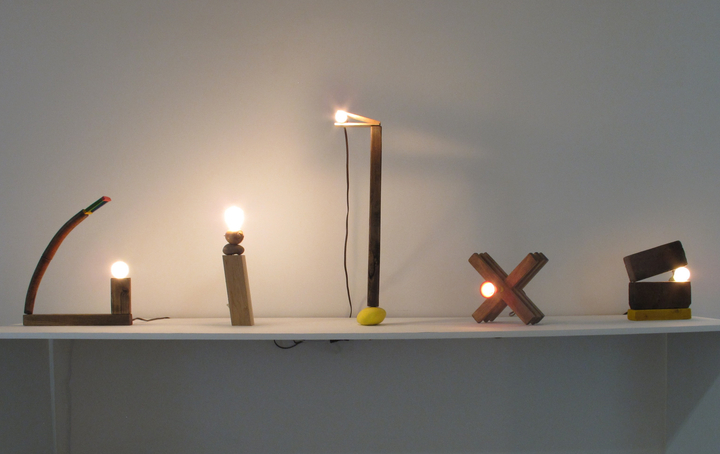 Clyde Glenn Burns Colby Bird, <i>House Lamps</i>, 2013