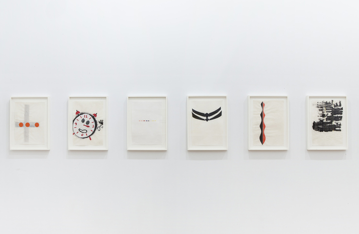 Middle America Urgent Effectively Eventually (set of 6 drawings), 2011